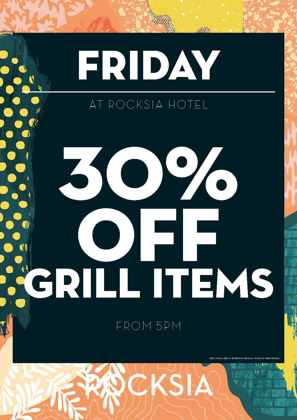 30% Off Grill